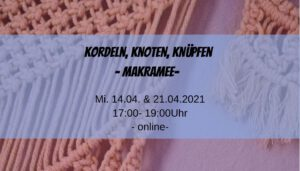Read more about the article Kordeln, Knoten, Knüpfen