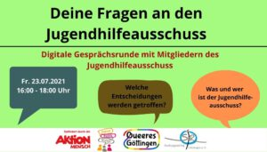 Read more about the article Gesprächsrunde JHA