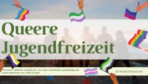 Read more about the article Ferienfreizeit für LGBTQIA*