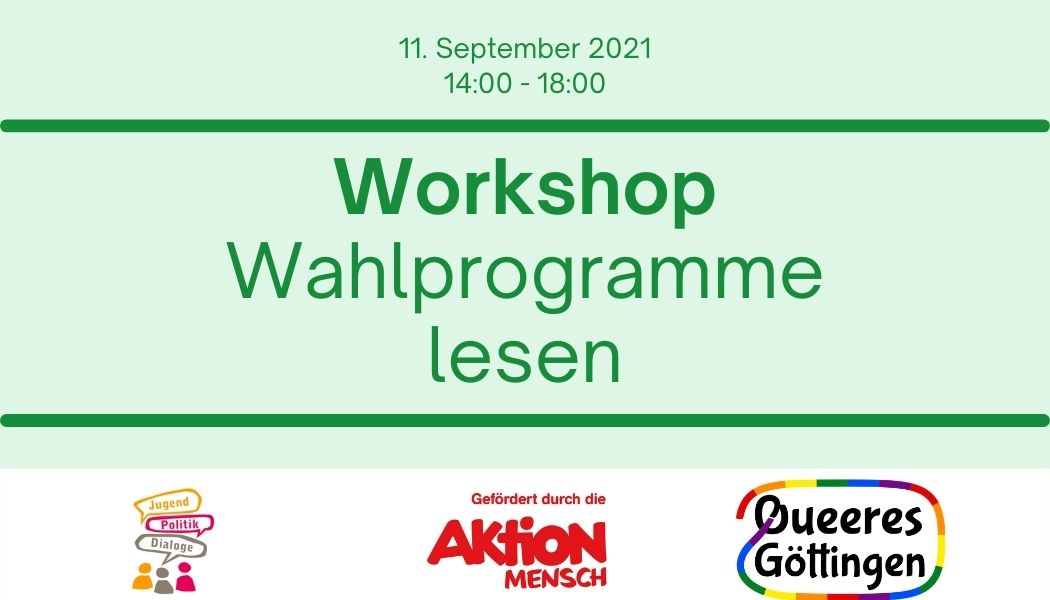 You are currently viewing Workshop: Wahlprogramme lesen